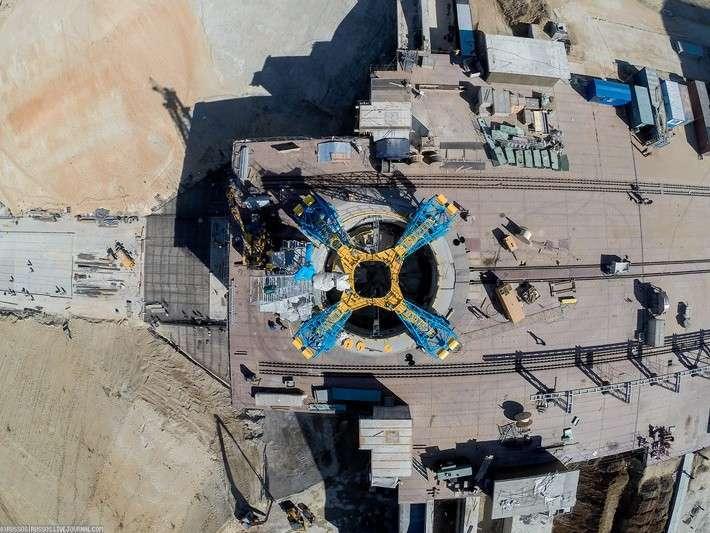 Фоторепортаж с космодрома «Восточный»