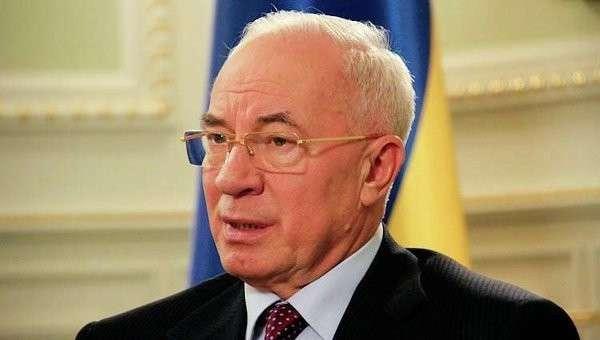 Николай Азаров. Архивное фото.