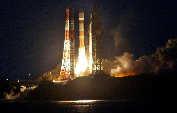Япония успешно запустила корабль «Конотори» к МКС