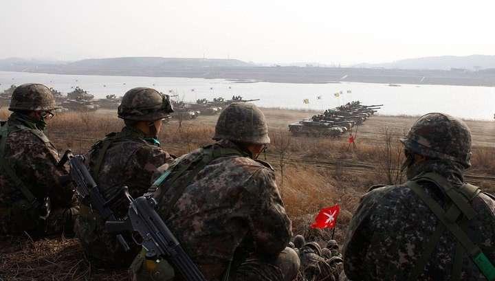 Северная и Южная Кореи обменялись артиллерийскими ударами