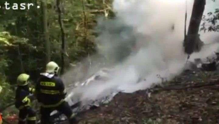 В авиакатастрофе в Словакии парашютистов спас профессионализм