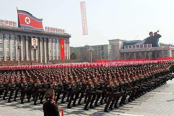 Напряженность между двумя Кореями подогревают из-за океана