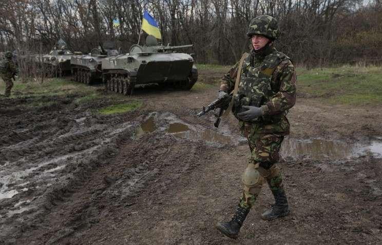Вооружённые силы Украины развернули 15-тысячную группировку в приграничных районах с РФ