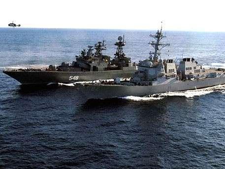Крупнейшие военно-морские учения России и Китая стартовали в Приморье
