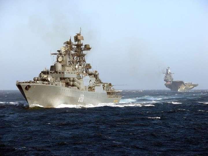 Отряд боевых кораблей ВМФ России зашел в Ла-Манш