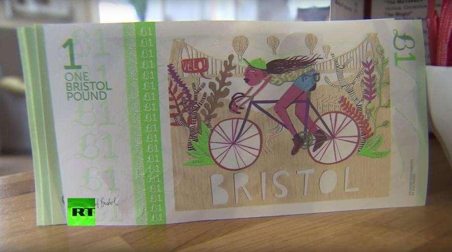 бристольский фунт помогает сохранить деньги в регионе
