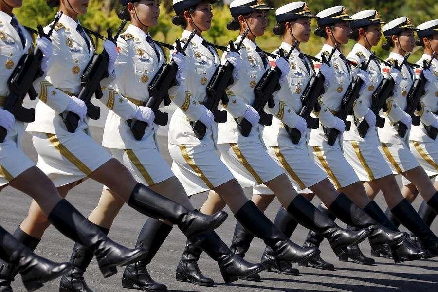 В Пекине прошла репетиция парада в честь 70-летия победы в войне против Японии