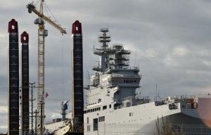 Франция выплатила России €950 млн. по контракту о «Мистралях»