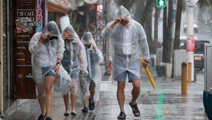 Тайфун «Гони» ослаб по дороге к Приморью