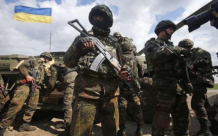 Силовики применили зажигательные снаряды на Донбассе