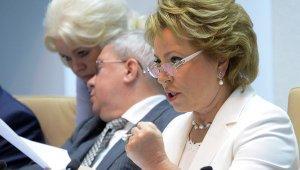 Визит российской делегации в США во главе с Матвиенко оказался сорван