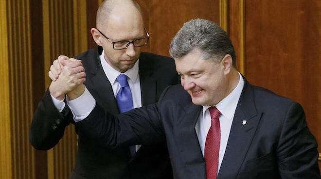 Порошенко и Яценюк продавали места в Верховной раде