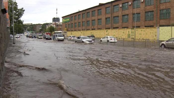 В Приморском крае удалось избежать существенного вреда от тайфуна «Гони»