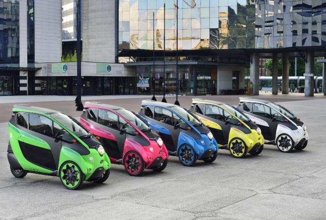 Японский автоконцерн тестирует «электрокар будущего»