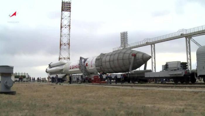 Ракета-носитель «Протон-М» готова к запуску