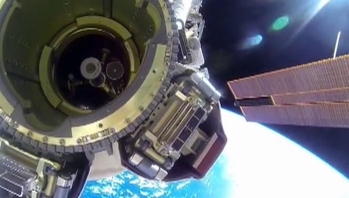 «Союз» успешно перестыковали к модулю «Звезда»