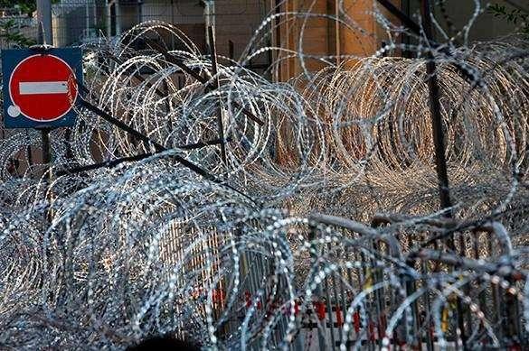 Забор на границе