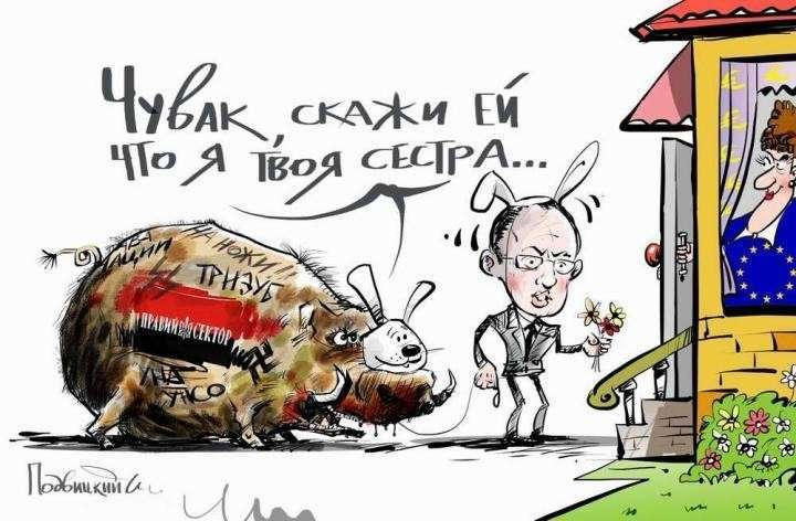 Евросоюз не спасёт Украину, но Яценюк все ещё верит
