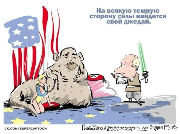 Каждому своё: США развязывает войны, Россия изобретает космические корабли...