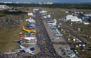 Авиасалон МАКС-2015 в общей сложности посетили чуть более 400 тыс. человек