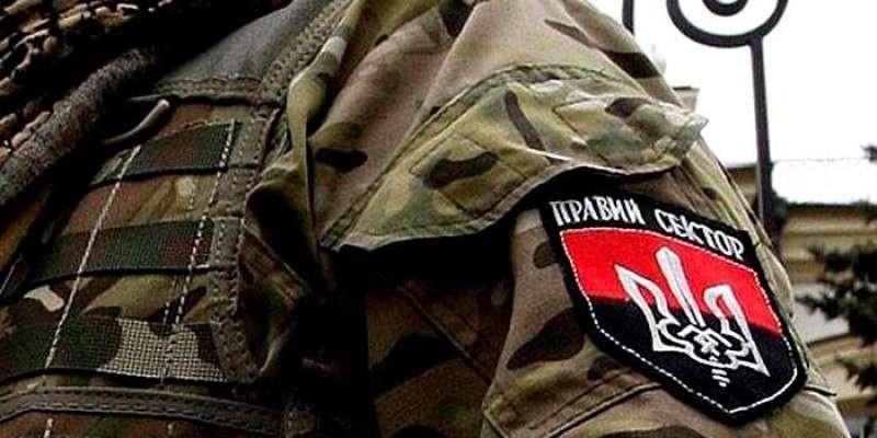 Бандиты из «Правого сектора» призывают к вооружённому восстанию