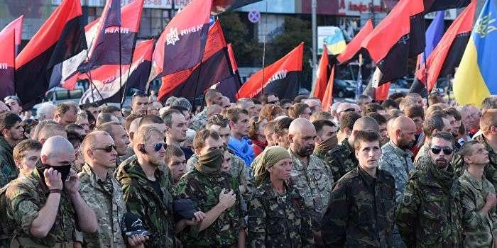 Бандиты из «Правого сектора» объявили срочный сбор в Мариинском парке в Киеве