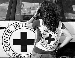 Сотрудники Красного креста возили в автомобилях «Правый сектор»