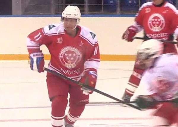 Школьники против команды Путина: в Сочи сыграли в необычный хоккей