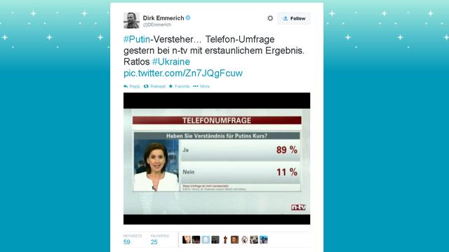 89% зрителей немецкого телеканала проголосовали за курс Путина