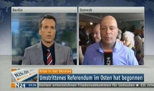 Явка избирателей в Донецке превзошла ожидания немецкого журналиста