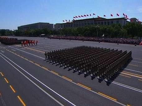 Лучшие кадры военного парада в Пекине в честь 70-летия Победы во II мировой войне