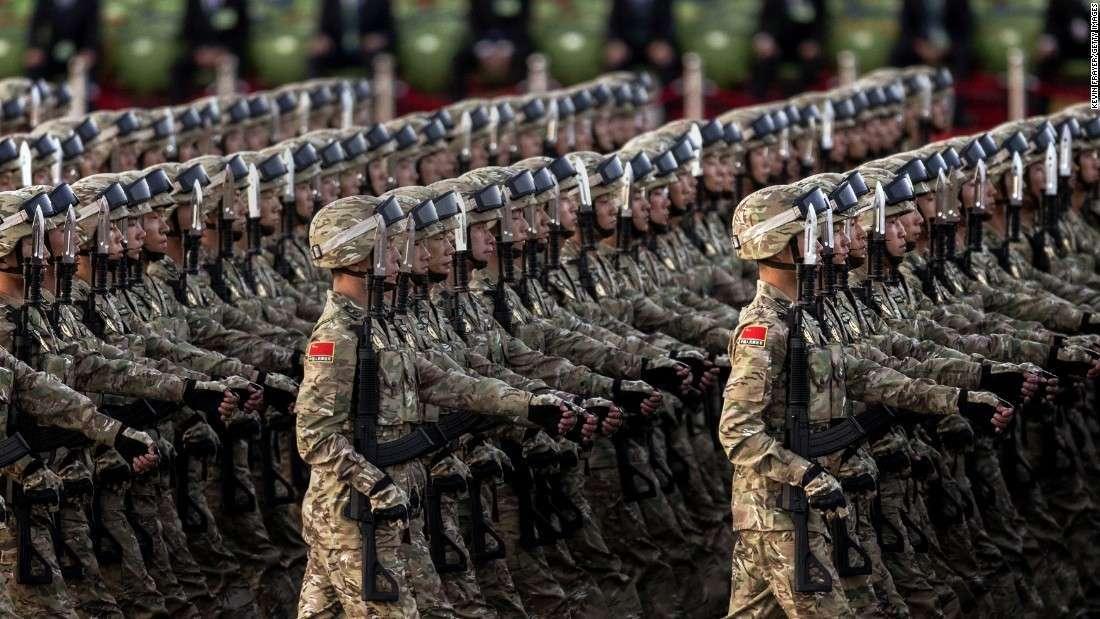 Вооружение, которое показали китайцы на параде