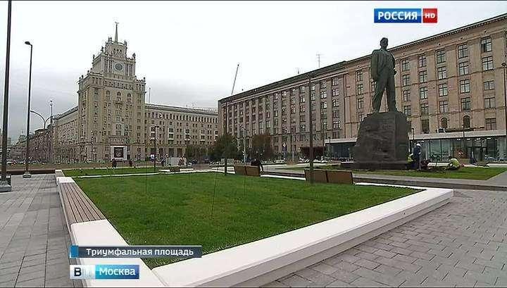 Триумфальная площадь открывается после реконструкции