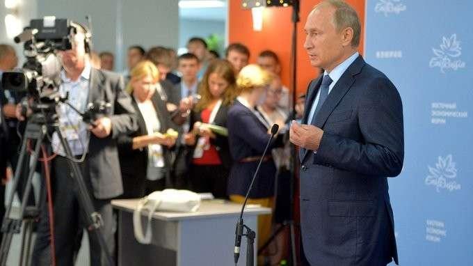 Владимир Путин ответил навопросы российских журналистов