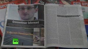 Эдвард Сноуден не смог присутствовать на вручении премии в Норвегии из соображений безопасности
