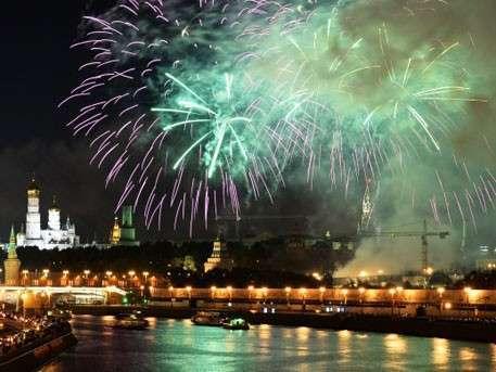День города в Москве завершился праздничным салютом