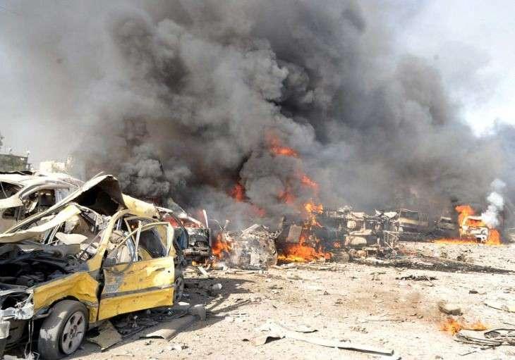 Сирийские войска наступают «при поддержке российской артиллерии»