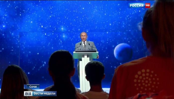 Владимир Путин рассказал детям об истинных ценностях в жизни