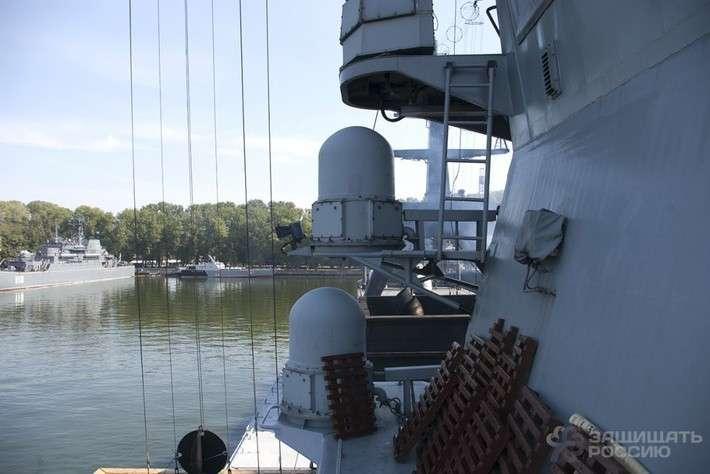 Фоторепортаж с борта корвета «Бойкий» во время учебного выхода в море