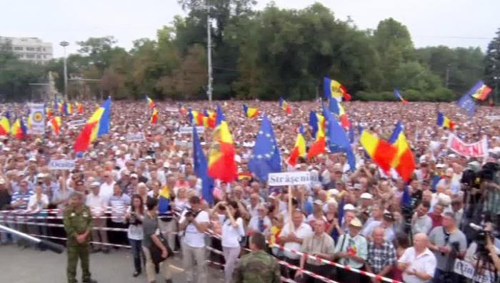 В Кишинёве начался новый виток массовых протестов