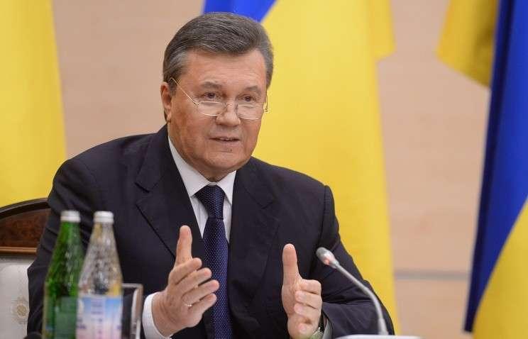Янукович потребовал от властей в Киеве прекратить террор против собственного народа