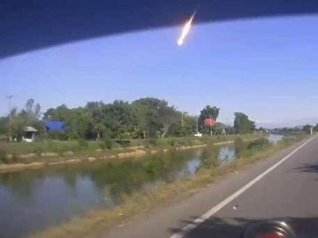 В Таиланде упал «метеорит», очень похожий на челябинский