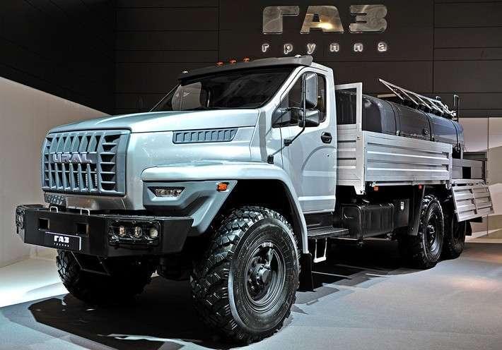 Группа ГАЗ представила семь новых моделей поколения NEXT