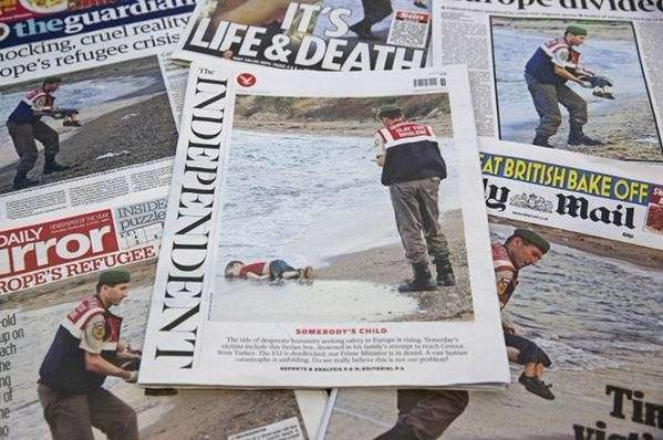 Фото выброшенного на берег сирийского мальчика оказалось постановочным