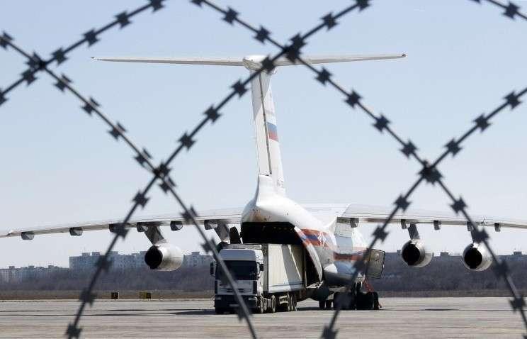 Болгария отказала России в воздушном коридоре для самолётов с гумпомощью Сирии