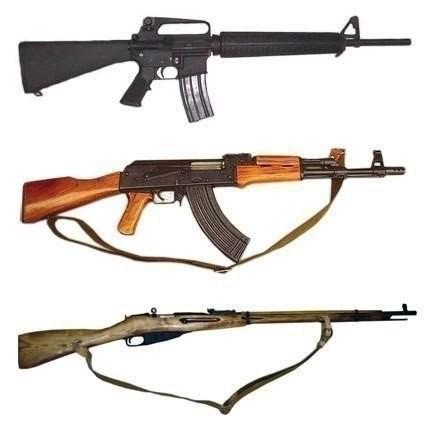 Немного фактов о стрелковом оружии