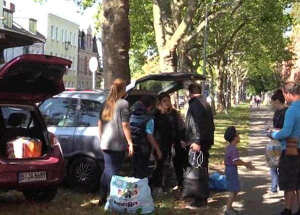 Беженцы из Сирии обживают спальные районы Берлина