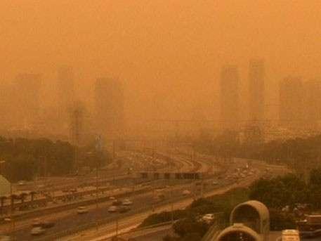 Буря столетия: Ближний Восток засыпало песком