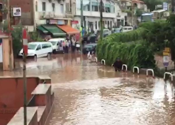 Сицилия оказалась затоплена из-за сильного ливня