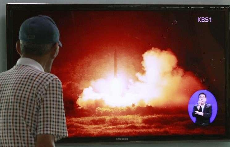 КНДР проведет запуск новой баллистической ракеты 10 октября